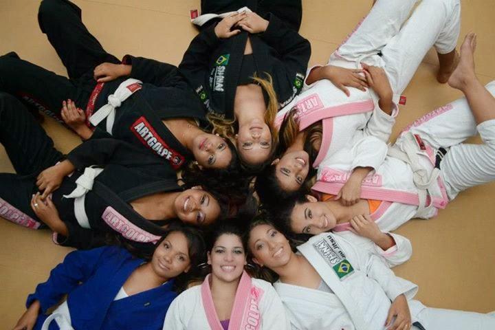 jiu jitsu para mulheres