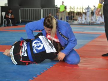 patrocínio e jiu-jitsu