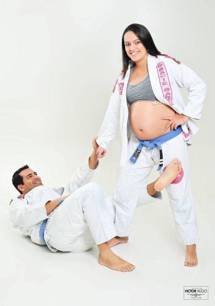 Marília em sua gravidez (Foto: Arquivo pessoal)