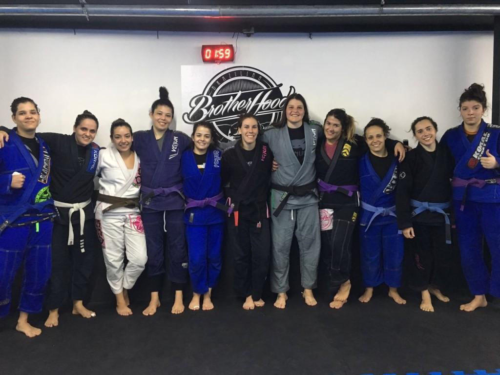 Equipe feminina Brotherhood São Paulo