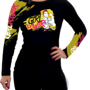 Rashguard Girl Power Bjj Girls Mag