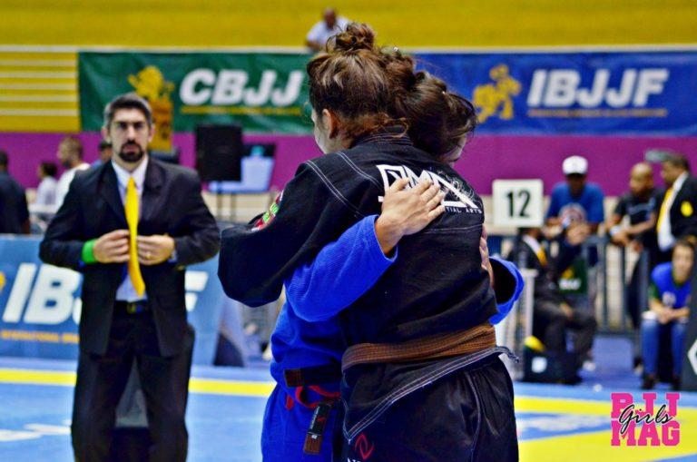 ajudem umas às outras no jiu-jitsu